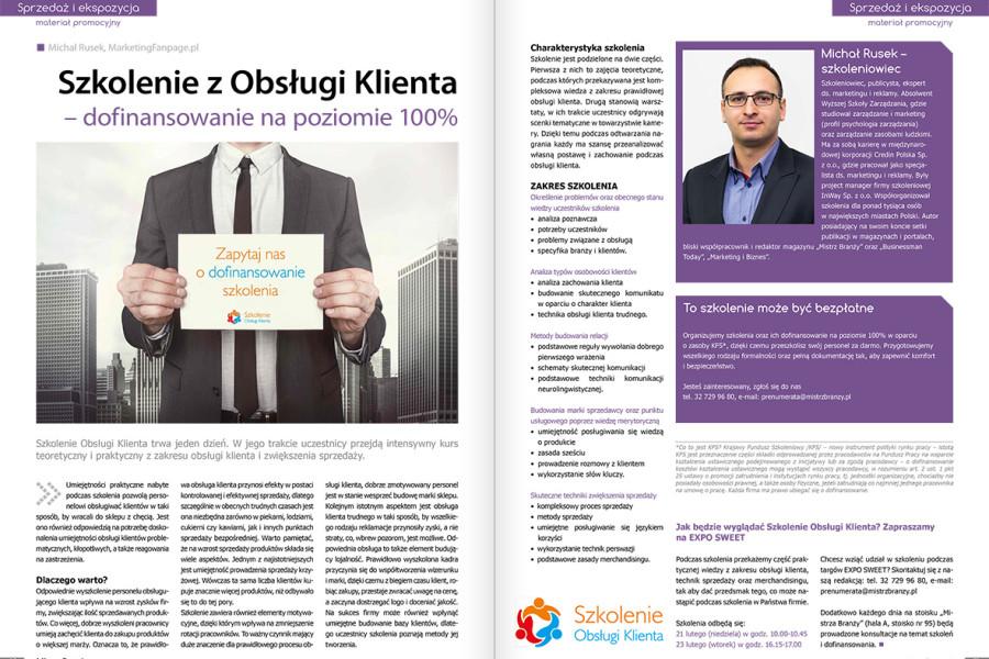 Szkolenie Obsługi Klienta dofinansowane na poziomie 100%